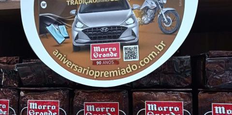 Café Morro Grande promove sorteios para celebrar 90 anos