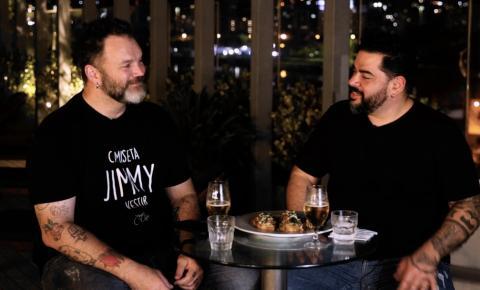Foodtopia, videocast dos chefs Jimmy Ogro e Igor Barreto, estreia nesta terça