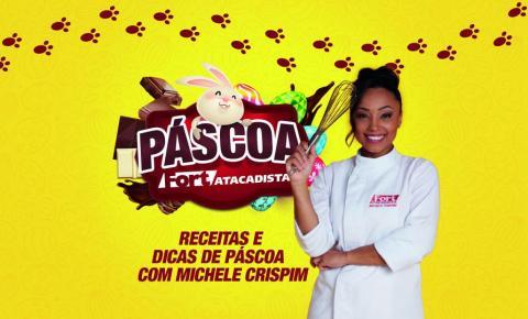 Fort Atacadista e chef Michele Crispim apresentam série de vídeos com dicas de como trabalhar com o chocolate
