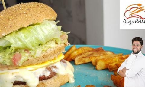 Receita by Chef Guga Rossi: Hambúrguer com toque especial..