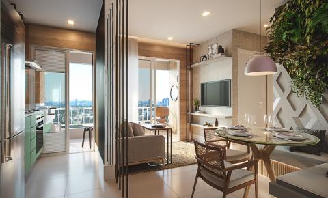 Apartamentos pequenos: saiba como ampliar e criar um ambiente confortável e cheio de personalidade