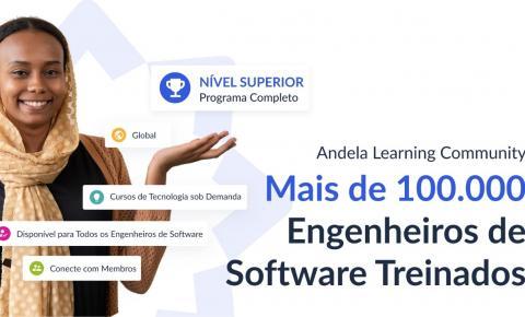 Comunidade de aprendizado da Andela ultrapassa 100.000 participantes