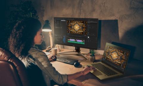 Acer indica melhores monitores da marca para uso como segunda tela
