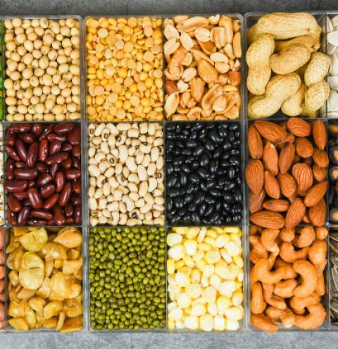 Conheça os nutrientes de acordo com as cores de cada grão